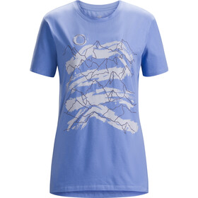 Arc'teryx W's Playground SS T-Shirt Cloudburst